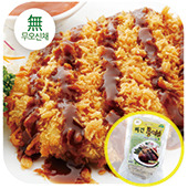 비건 콩까스(1.4kg)-무오신채 (Vegan Soy Cutlets-No Five Pungent Herbs / 140gx10개)