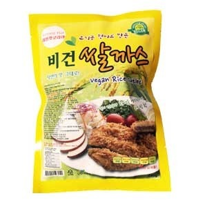 비건 쌀까스 240g (Vegan Rice Cutlets / 80gx3개)